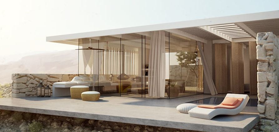 Desert Villa – Architecture Visualization