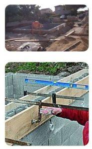 piscine blocs beton a bancher